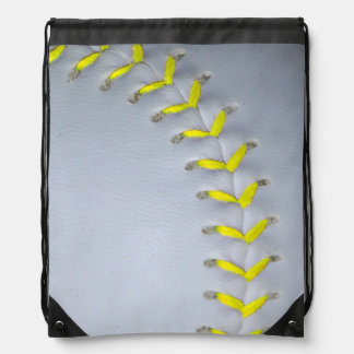 Het het gele Honkbal/Softball van Steken Rugzakje