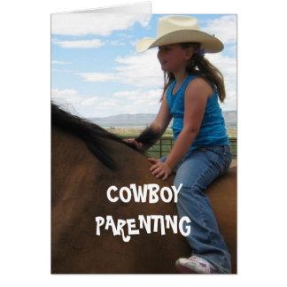 Het het goede Saldo & Leven van Seat - Cowboy Briefkaarten 0