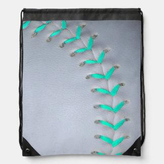 Het het lichtblauwe Honkbal/Softball van Steken Rugtassen