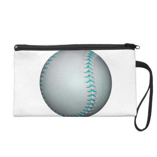 Het het lichtblauwe Honkbal/Softball van Steken