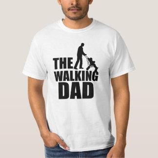 Het het Lopen grappige overhemd van de Papa T Shirt