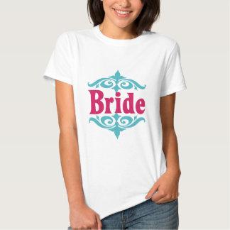 Het het Marokkaanse) Hete Roze van de bruid (& T-shirt