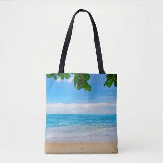 Het het tropische Zand en Zee van de Zon van het Draagtas