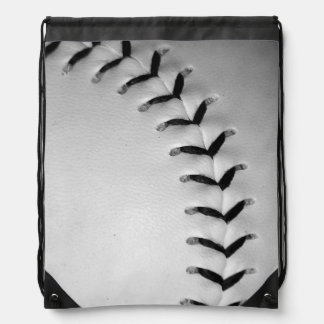 Het het zwarte Honkbal/Softball van Steken Gymtasjes