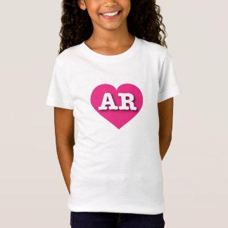 Het Hete Roze Hart van Arkansas - Grote Liefde T Shirt