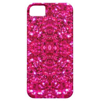 het hete roze schittert barely there iPhone 5 hoesje