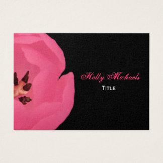 Het hete Roze Visitekaartje van de Tulp Visitekaartjes