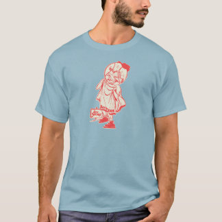Het hete T-shirt van het Honkbal van de Zwemmers