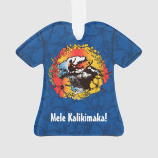 Het hip Hawaiiaanse Retro Overhemd Aloha van jaren Ornament