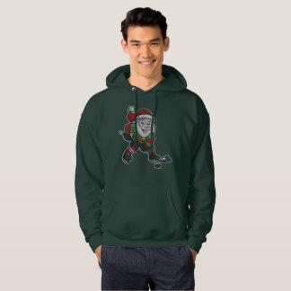 Het Hockey de Kerstman van Kerstmis Hoodie