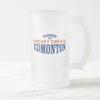 Het Hockey Greats van Edmonton 16 oz Berijpte Mok
