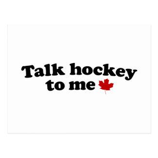 Het Hockey van de bespreking aan me Briefkaart
