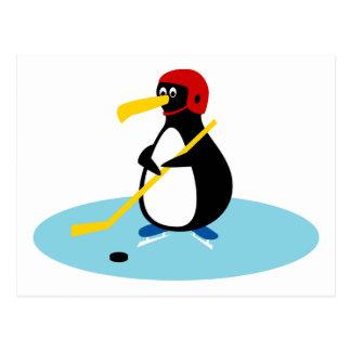 Het Hockey van de pinguïn Briefkaart