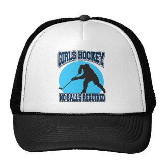 Het Hockey van meisjes - Geen Vereiste Ballen Petten Met Netje