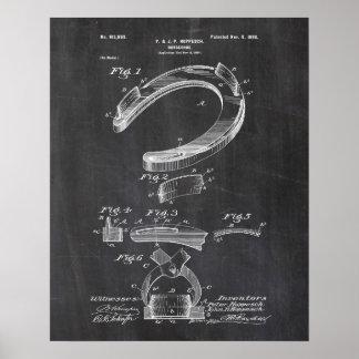 Het hoefijzer Poster van het Octrooi