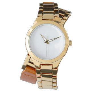 Het Hoes Gouden Horloge van vrouwen
