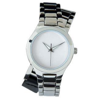 Het Hoes Zilveren Horloge van vrouwen
