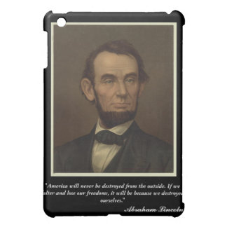Het Hoesje van Abraham Lincoln iPad iPad Mini Cover