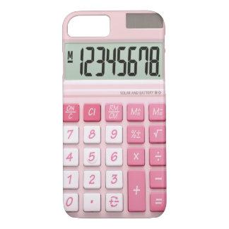 Het hoesje van de calculator