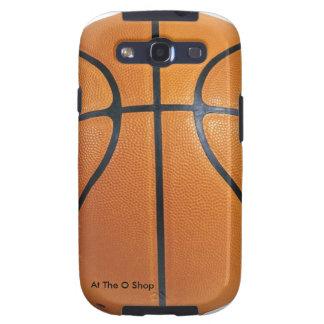 Het hoesje van de de celtelefoon van het Basketbal