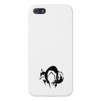 Het hoesje van de hondeniphone van de vos iPhone 5 cases