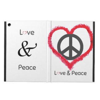 Het Hoesje van de Lucht van de liefde en van de iPad Air Hoesje