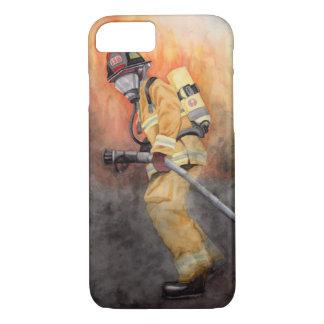 Het Hoesje van de Telefoon van de brandbestrijder