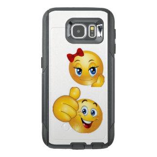 Het Hoesje van de Telefoon van de Cel van Emoji