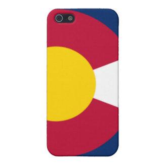 Het Hoesje van de Telefoon van de Vlag van Colorad iPhone 5 Cases
