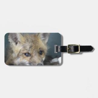 Het Hoesje van de Telefoon van de vos Kofferlabel