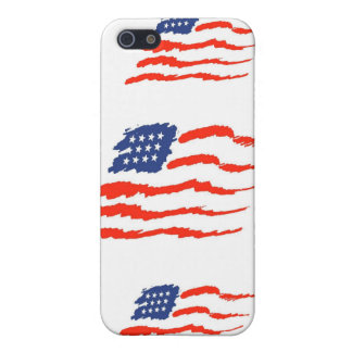 Het hoesje van de Vlag van Verenigde Staten ipod iPhone 5 Case