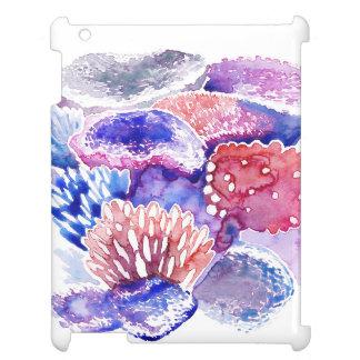 Het hoesje van de Waterverf van het koraalrif iPad iPad Hoesje