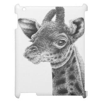 Het Hoesje van het Kalf van de giraf iPad Hoesje Voor iPad