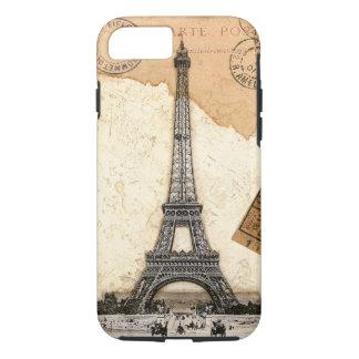 Het Hoesje van het Poststempel Iphone7 van Parijs