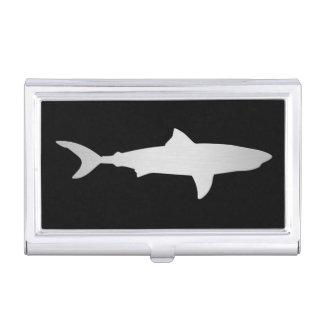 Het Hoesje van het Visitekaartje van de Haai van h Visitekaarthouder