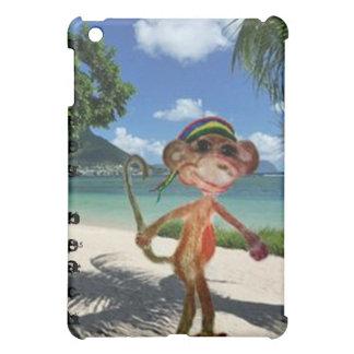 Het Hoesje van IPad van het Strand van de aap iPad Mini Cover