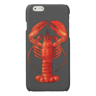 Het Hoesje van iPhone6/6S Savvy van de zeekreeft iPhone 6 Hoesje Glanzend