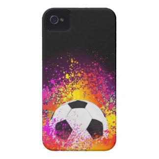 Het Hoesje van Iphone van de Bal van het Voetbal v