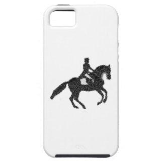 Het Hoesje van iPhone van de dressuur - het Paard