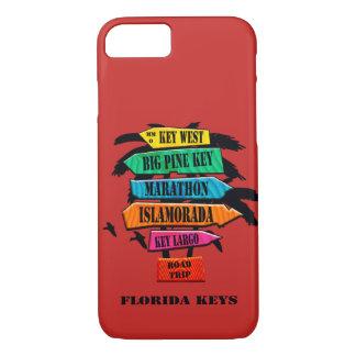 Het Hoesje van iPhone van de Sleutels van Florida