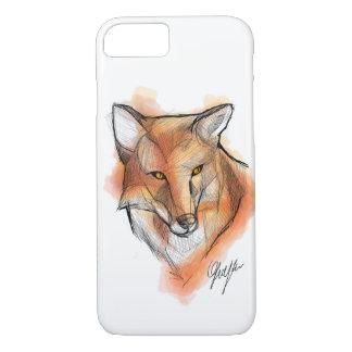 Het hoesje van Iphone van de vos