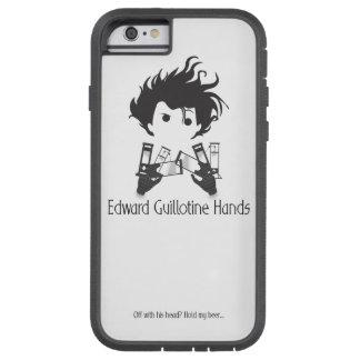 Het Hoesje van iPhone van Edward Guillotine Hands