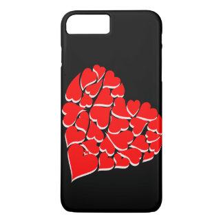 Het hoesje van Iphone van harten