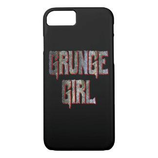 Het Hoesje van iPhone van het Meisje van Grunge