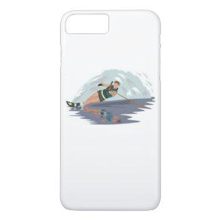 Het Hoesje van iPhone van Waterski van de slalom