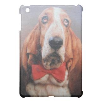 Het Hoesje van Ipod met Sherlock Basset Hound iPad Mini Cover