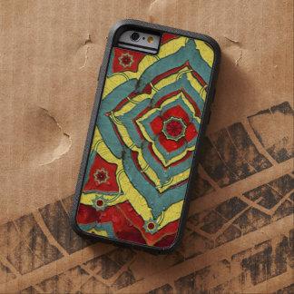 Het Hoesje van Mandala iPhone6 van de Rood van de