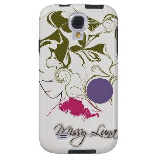 Het Hoesje van Missy Luna van de melkweg S4 Galaxy S4 Hoesje