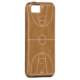Het Hof van het basketbal Tough iPhone 5 Hoesje