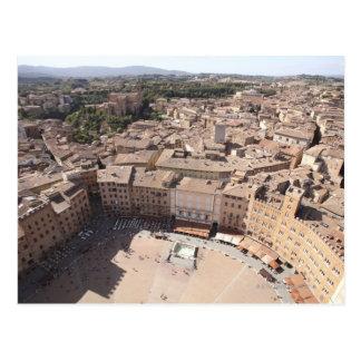 Het hoge Uitzicht van de Hoek van Townscape, Briefkaart